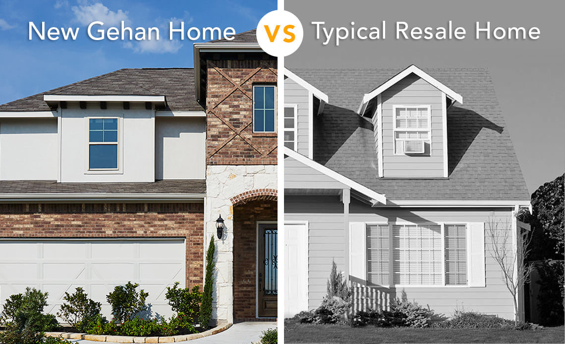 Why Buy a New Gehan Home over a Typical Resale Home