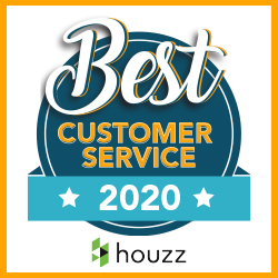 2020 Houzz Award for Customer Service